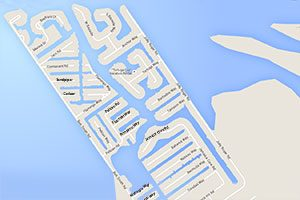 Map Of Jamaica Beach Homes For Sale